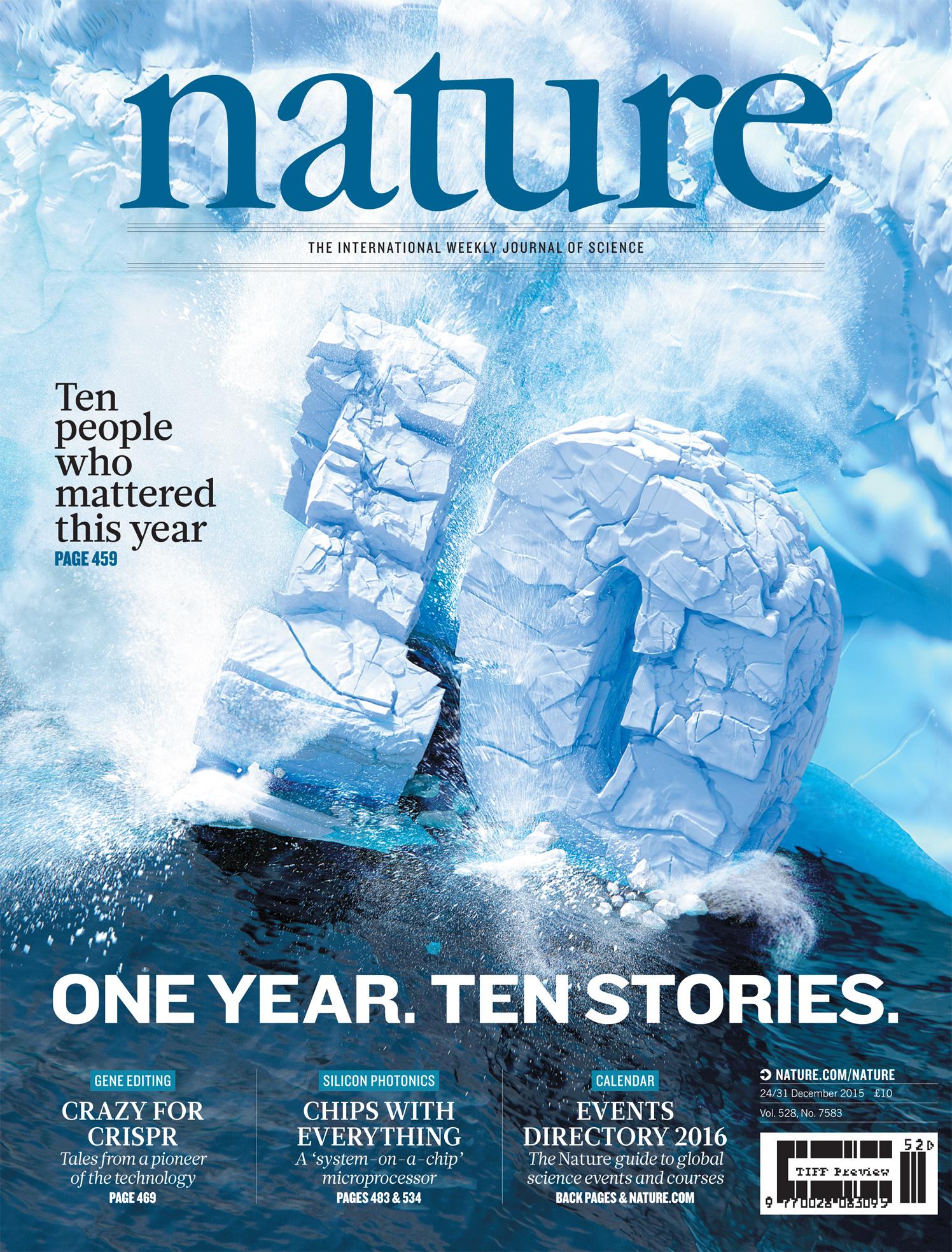 One Year. Ten Stories / Nature Magazine