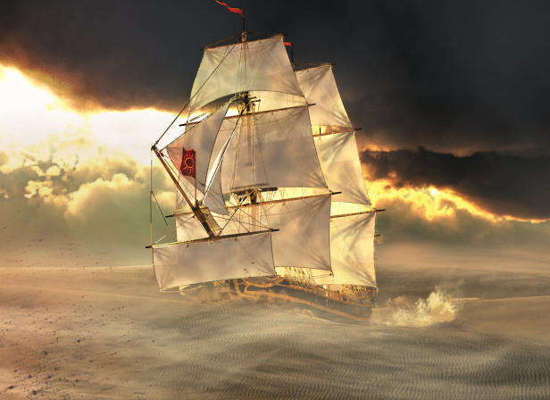 PersonalWork Ship of the desert.jpg