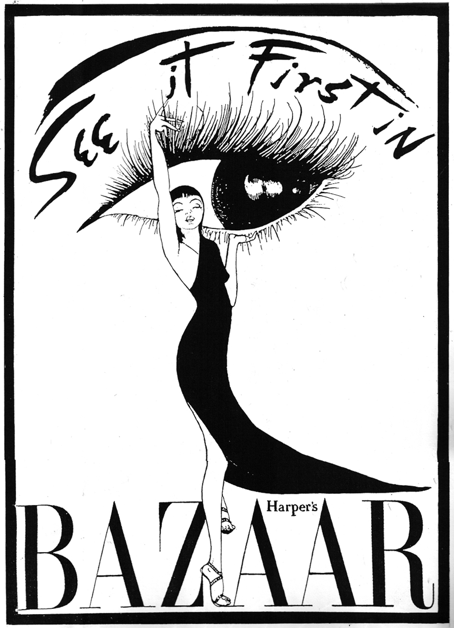 Advert Harpers Bazaar