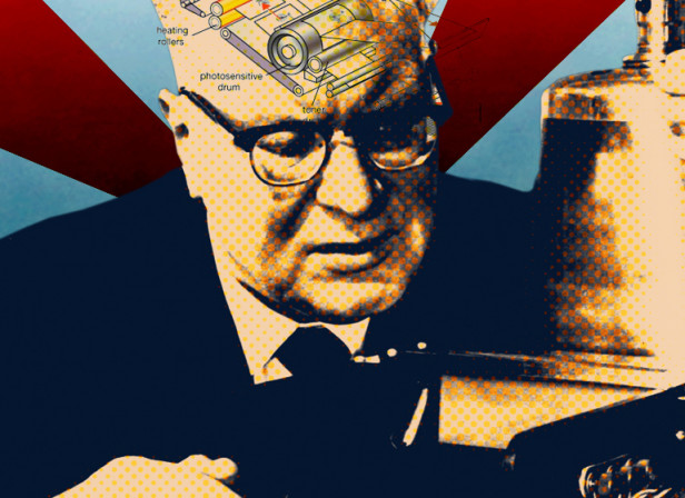 The Founder Of The Xerox Machine
