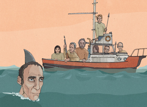 Will Self Will Need A Bigger Boat / The Telegraph