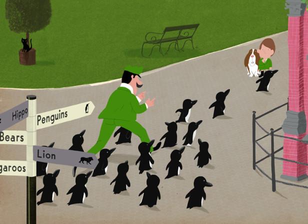 Mr Peek Penguin March