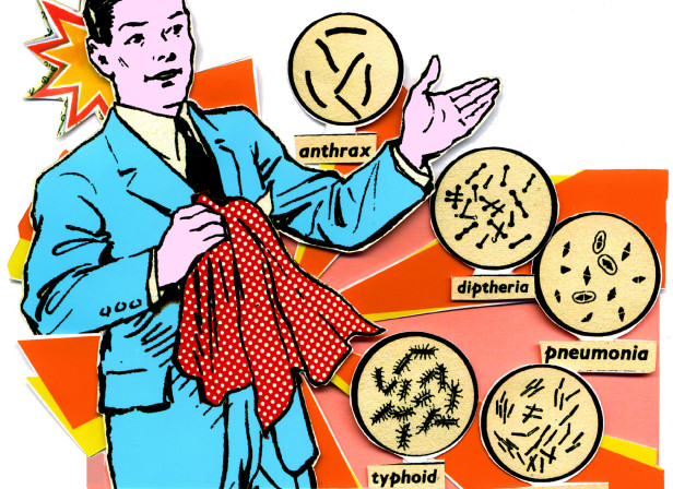 Handkerchief Bacteria Germs GQ