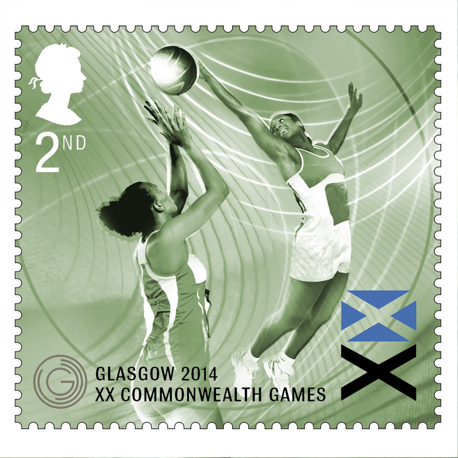 Netball Royal Mail Stamps