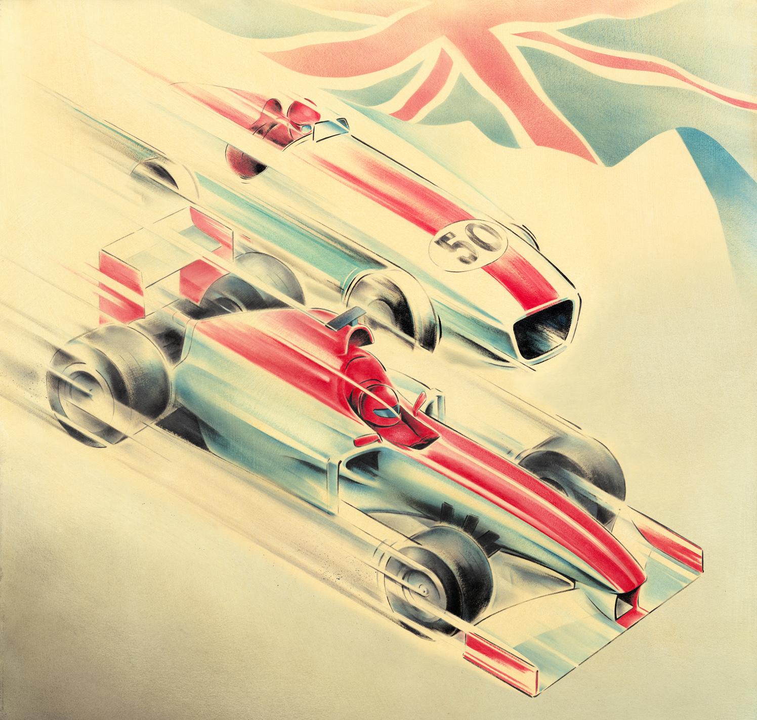F1 Grand Prix At Silverstone