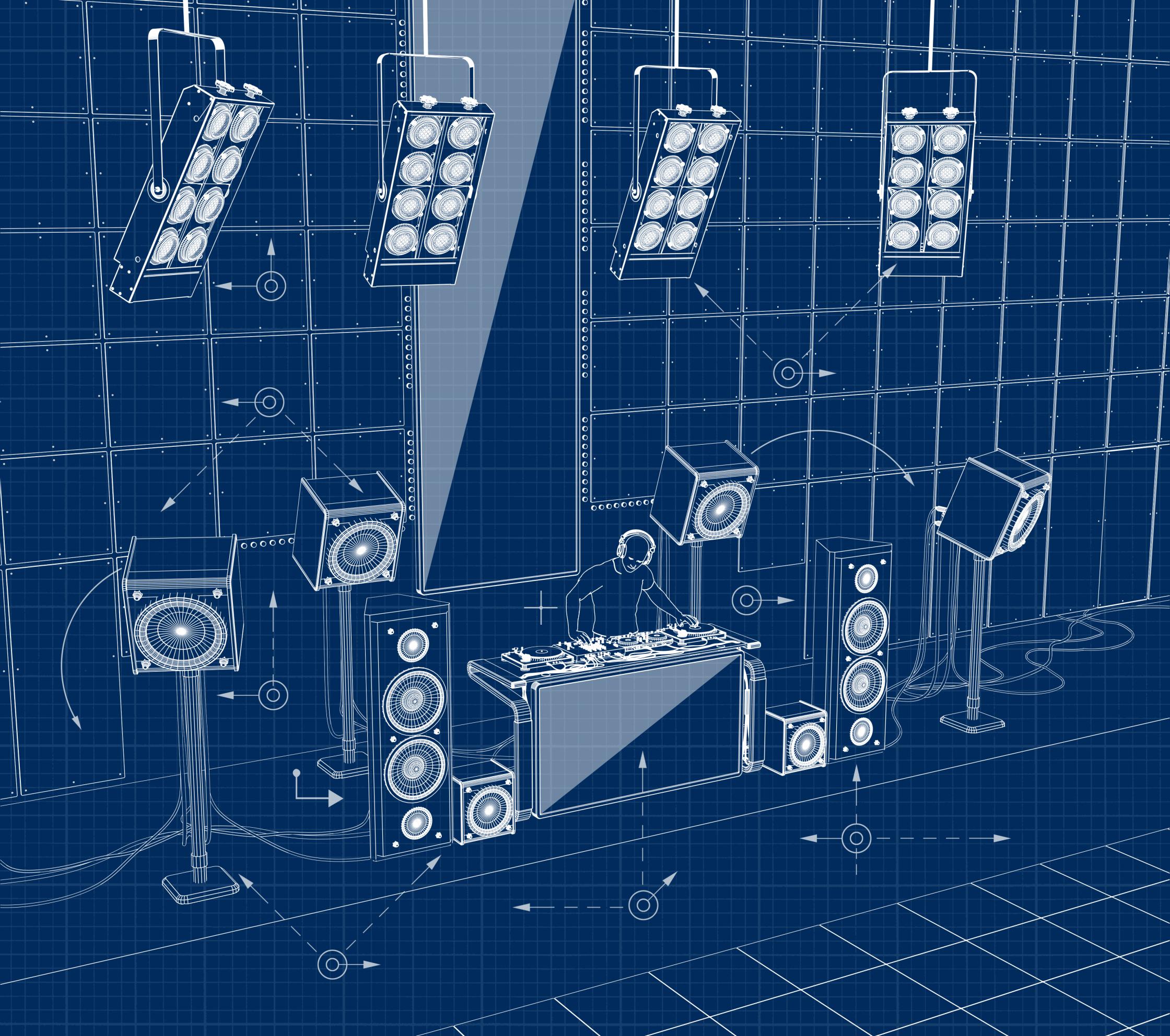 Sound System Playboy Magazine