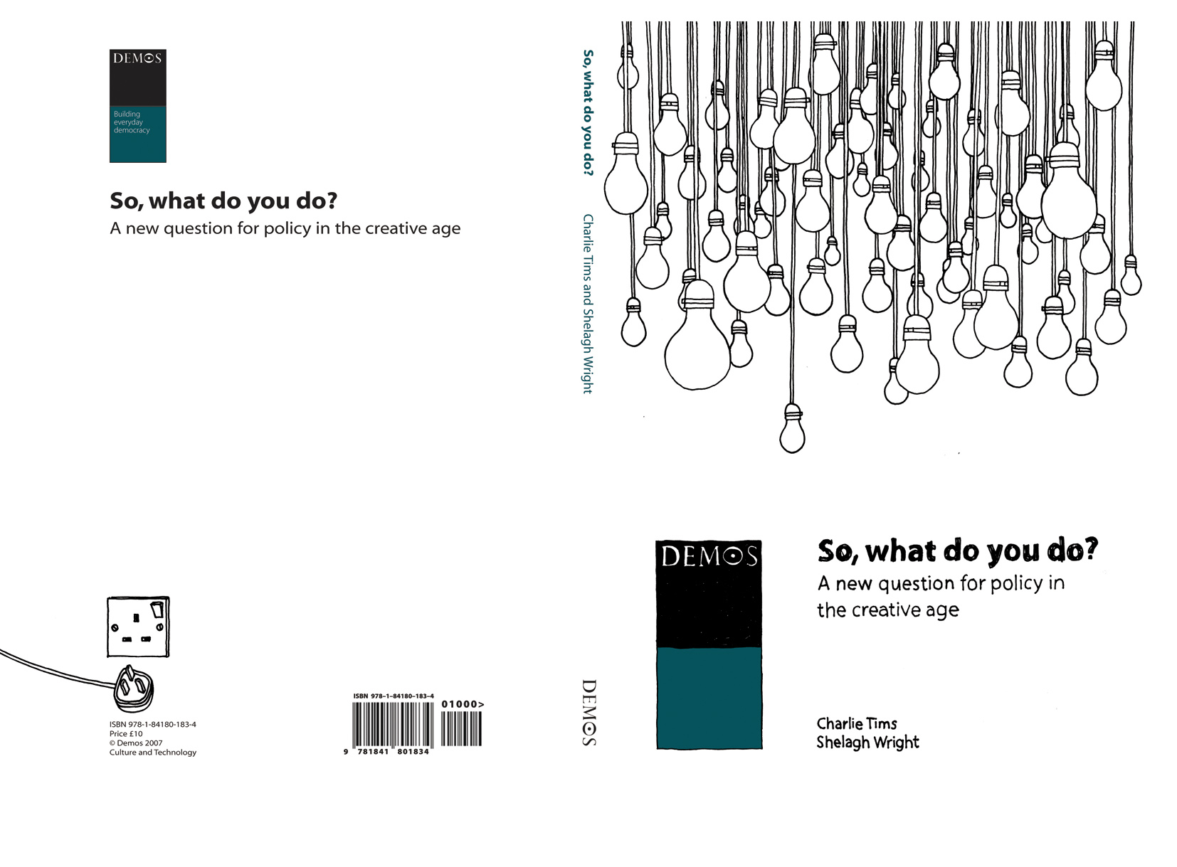 So, What Do You Do? Demos Report Cover