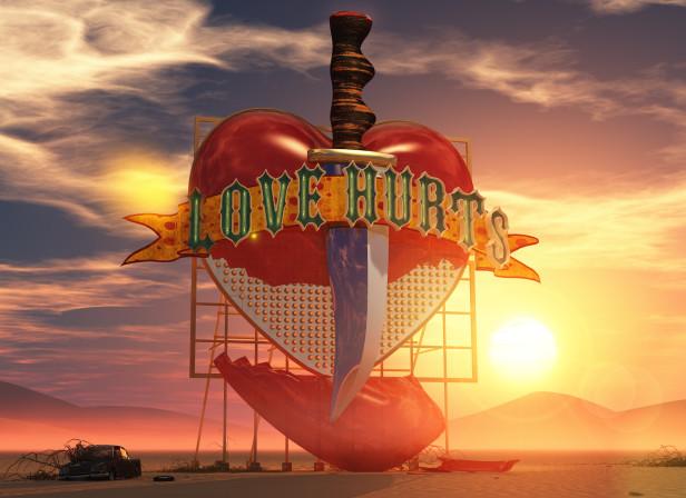 Love Hurts In The Desert