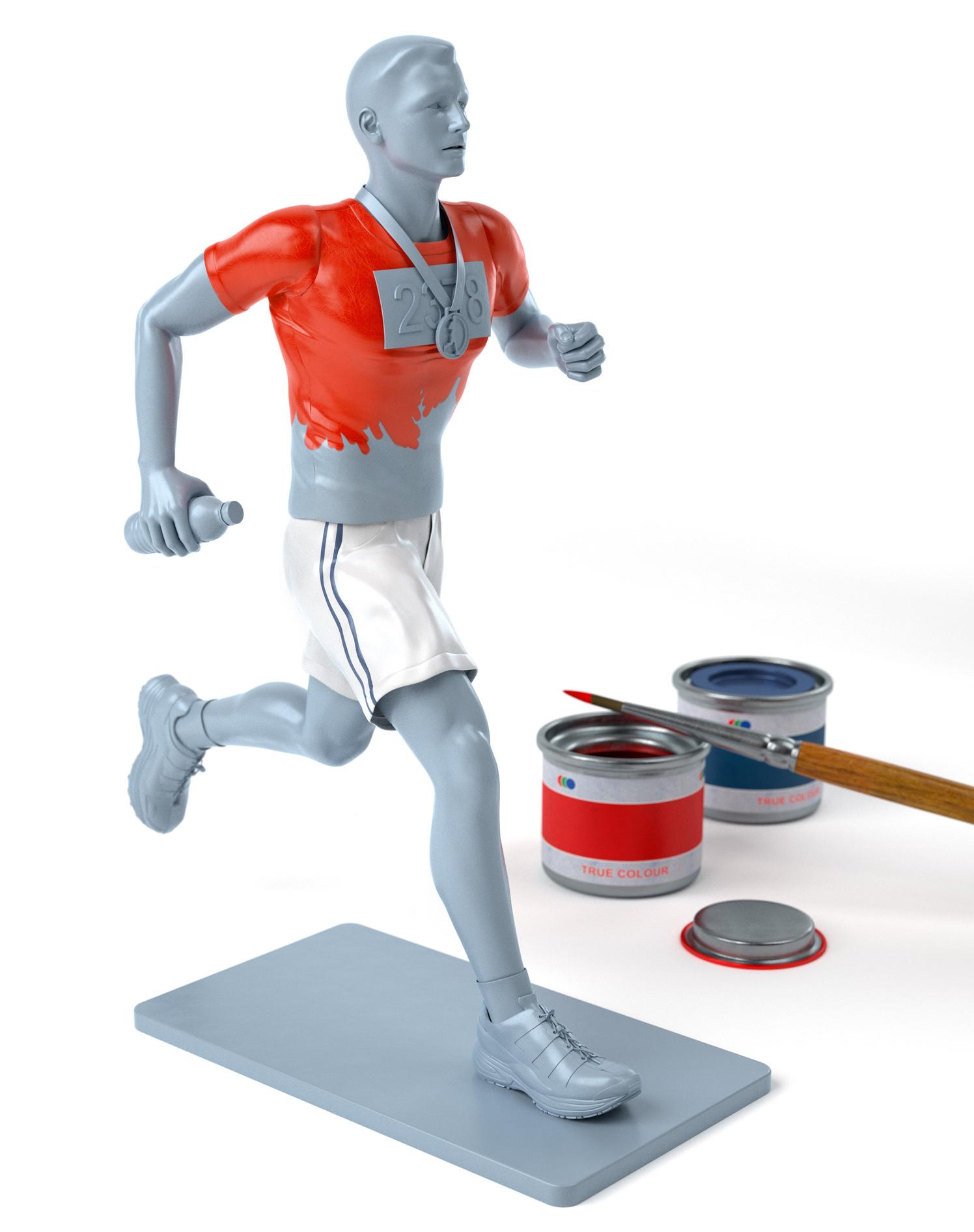 Airfix Marathon Man / Runner's World