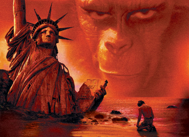 Planet of the Apes DVD Cover)