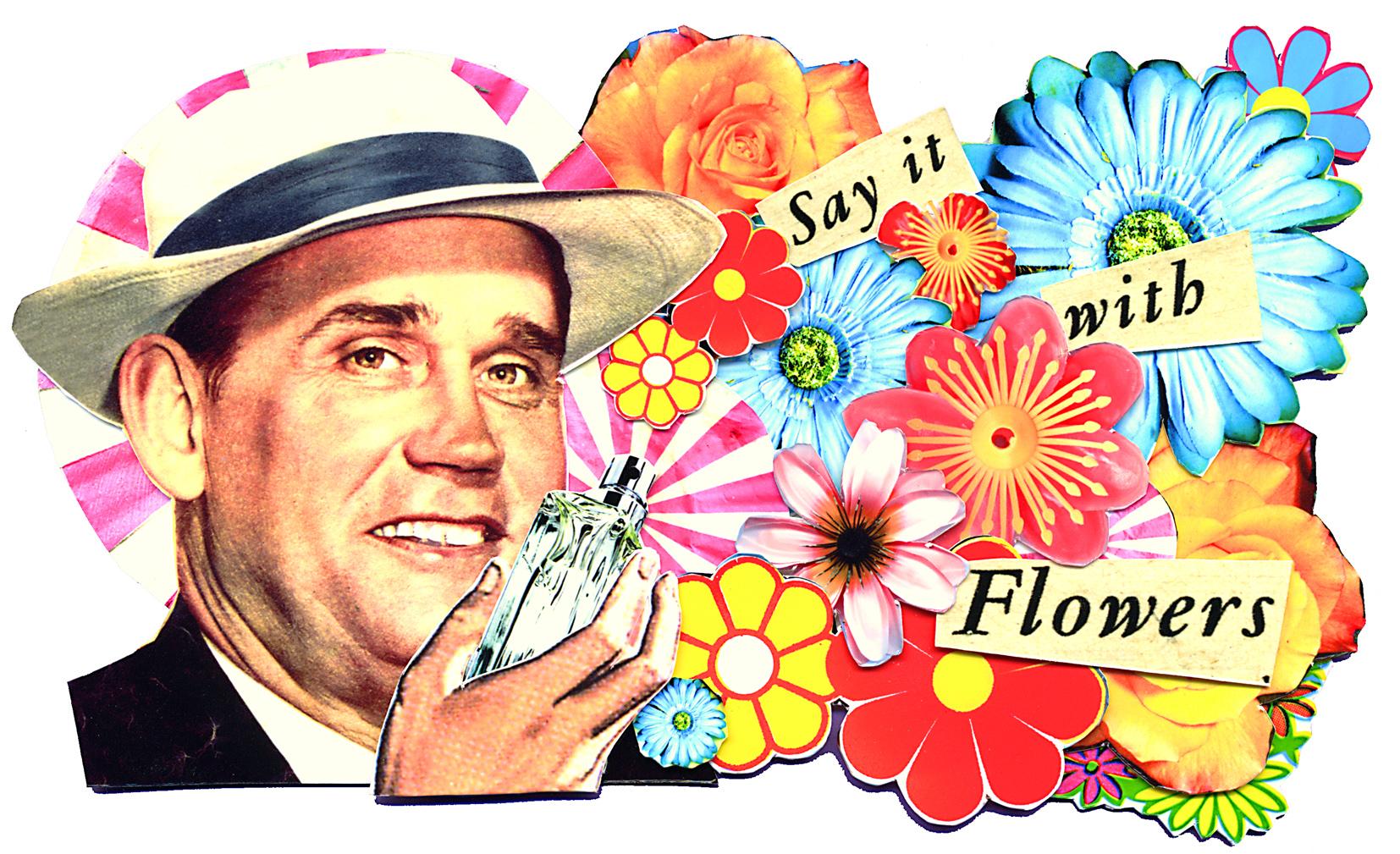 Flower Perfume for Men GQ