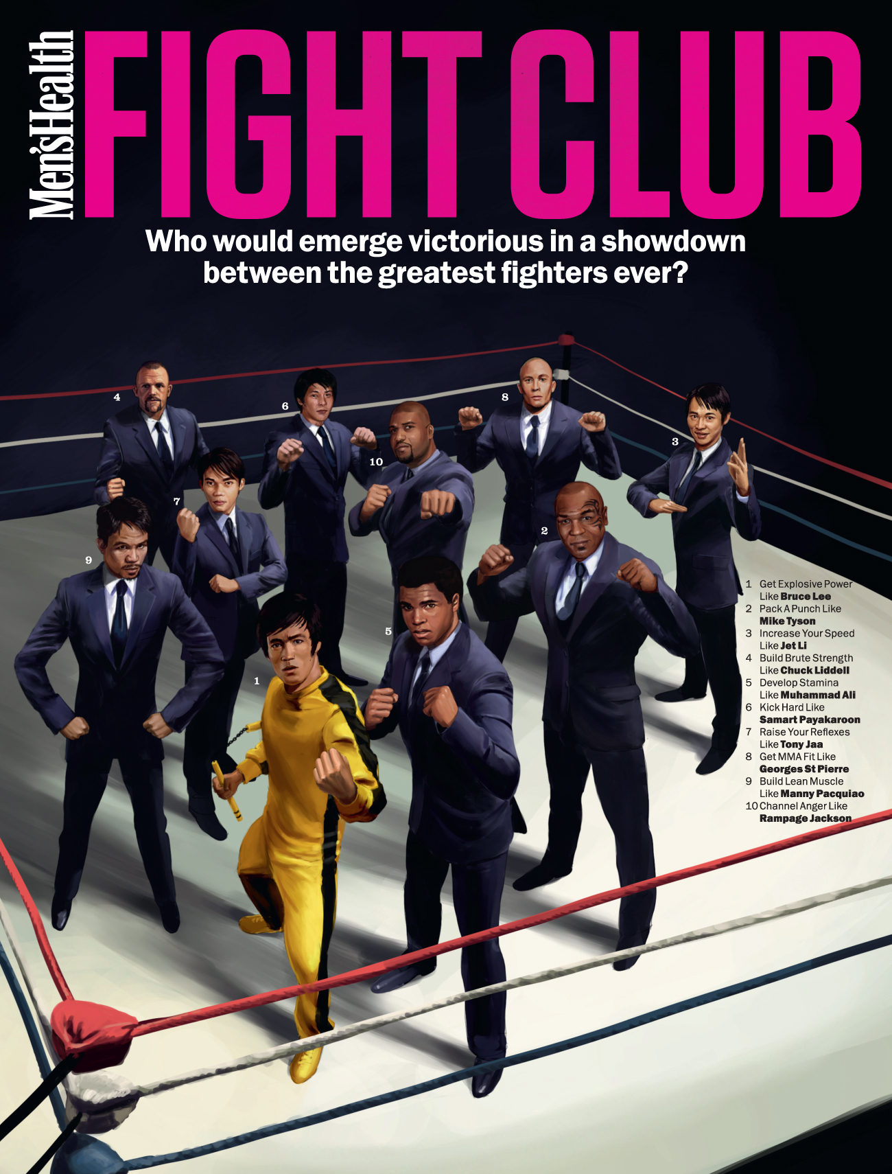 Men's Health Fight Club