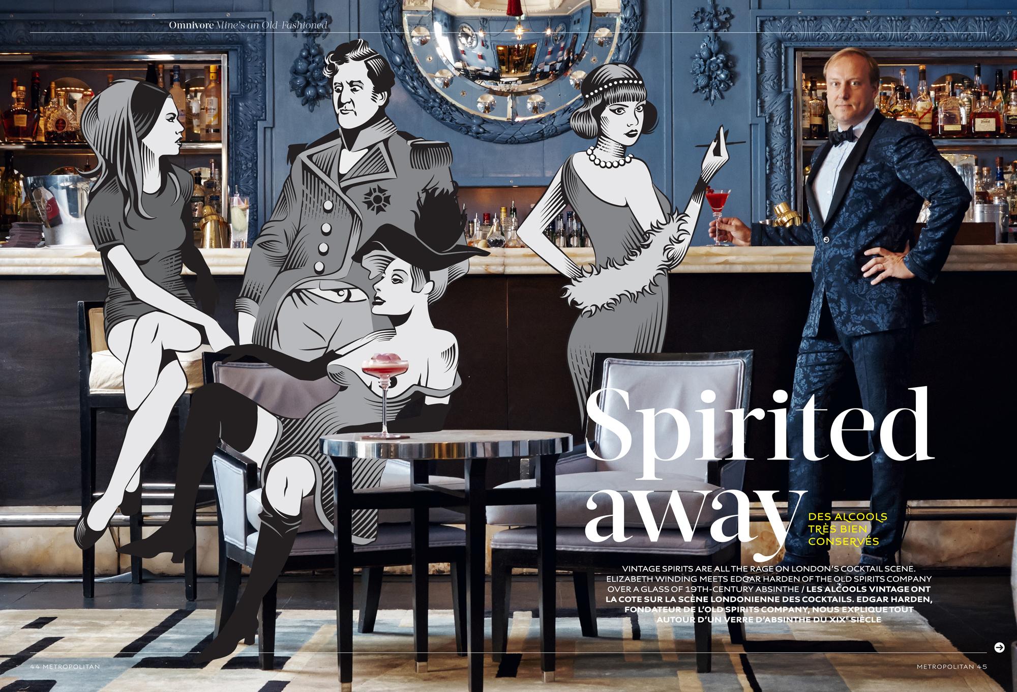 Spirited Away / Metropolitan Magazine