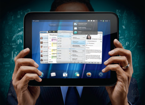 HP Touch Pad / Business Ad
