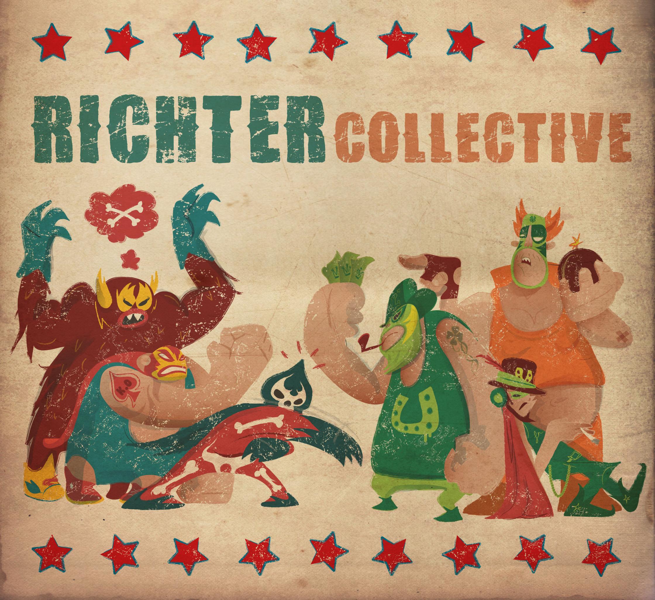 Richter Record Sleeve