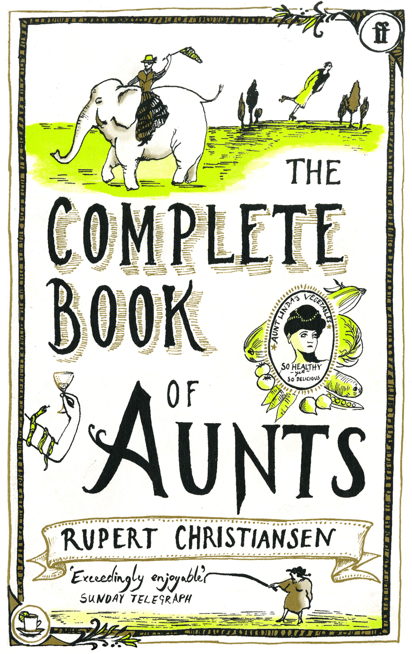 Faber Complete Book of Aunts Cover