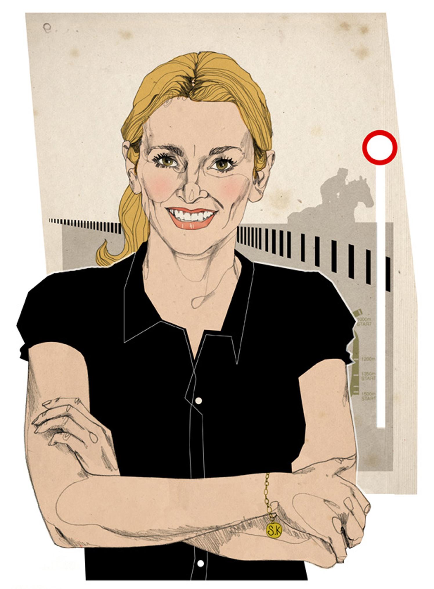 Gabby Logan / Cheltenham Open Mag