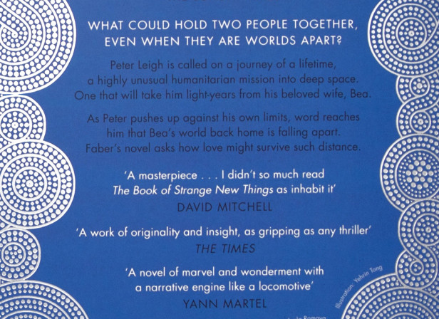 The Book of Strange New Things Paperback Book Cover Michel Faber 2