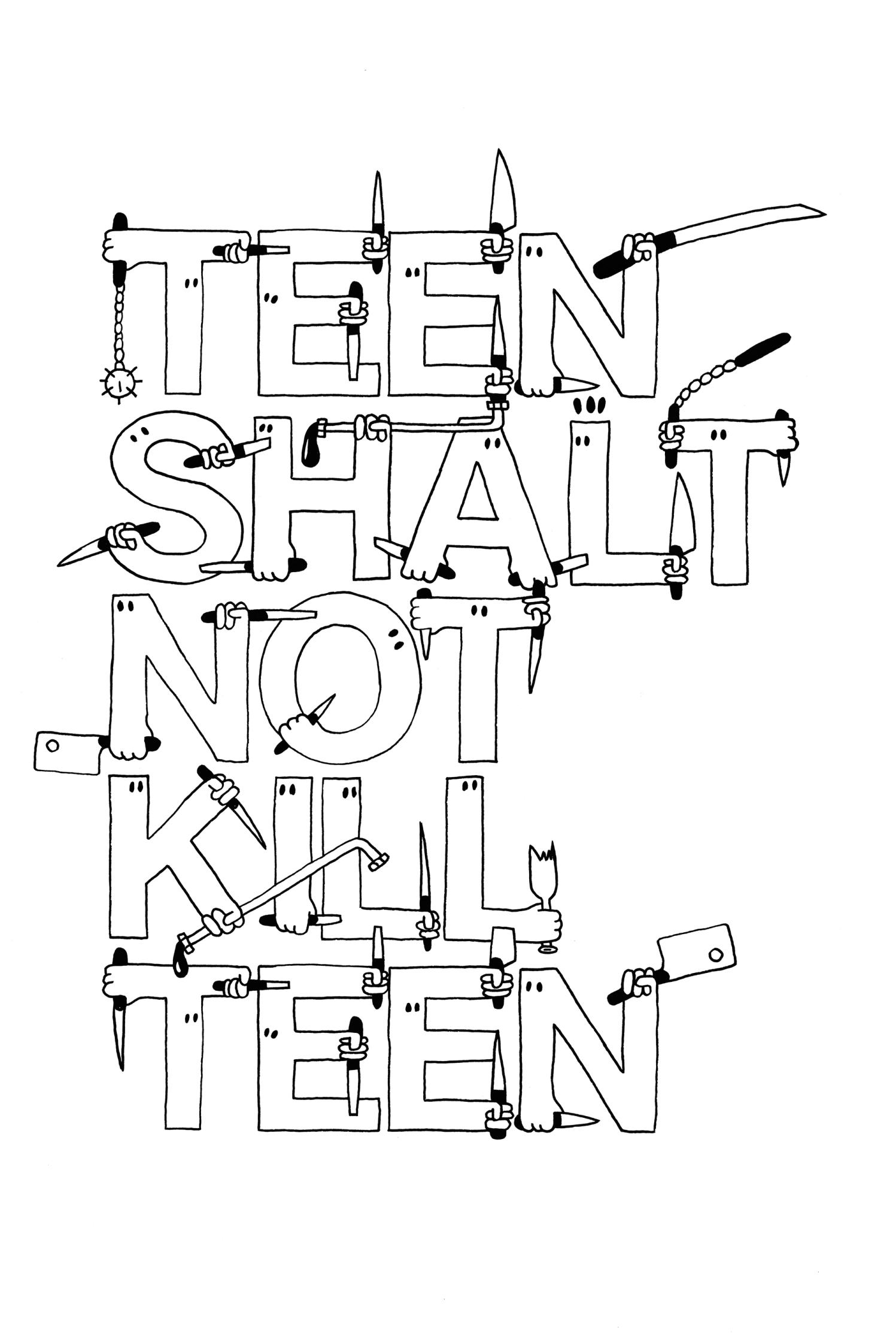 Teen Shalt Not Kill Teen