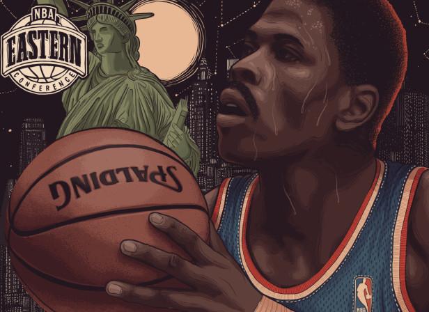 Allstar Basketball Ewing