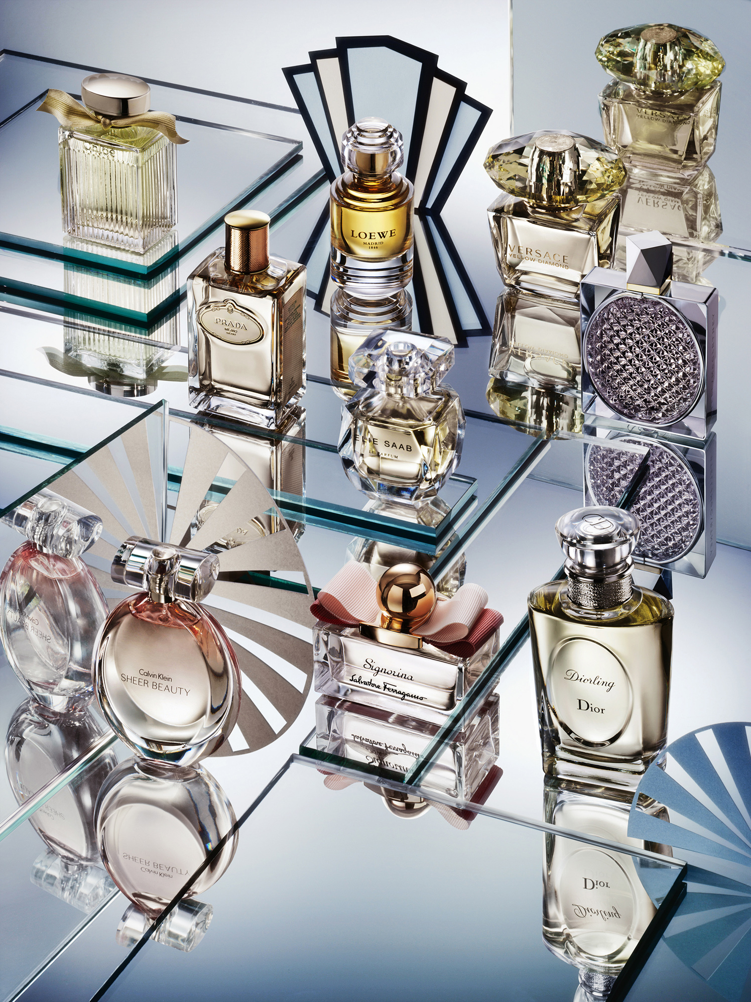 British Vogue Perfume Art Deco