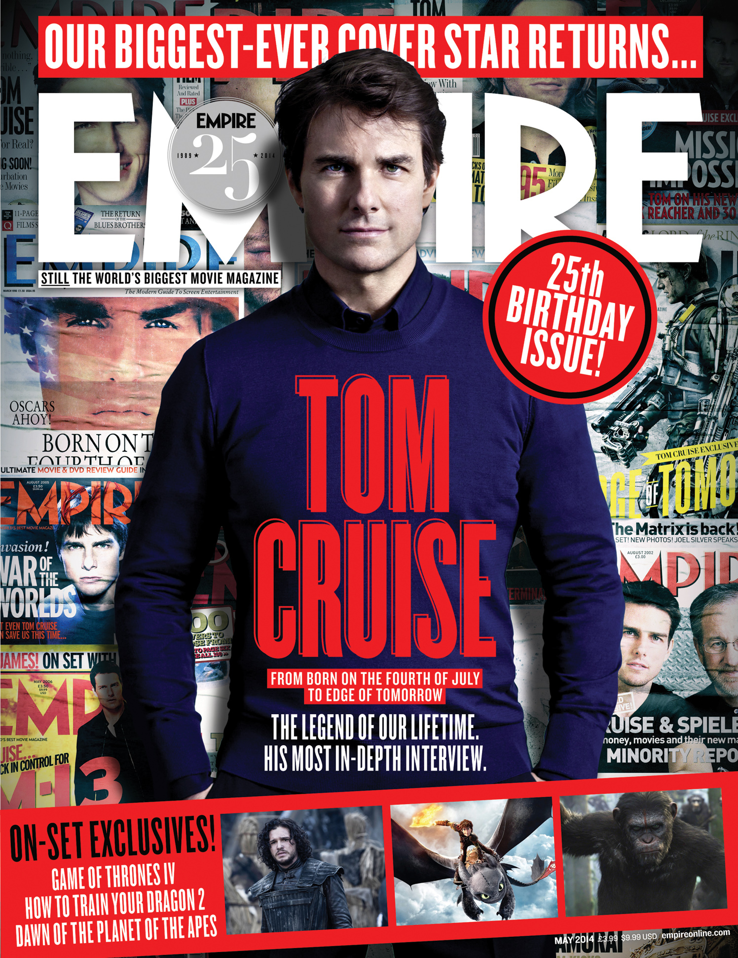 Tom Cruise / Empire Magazine