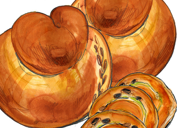 Yottam Ottolengi Jerusalem Pastries Coffee / Conde Nast