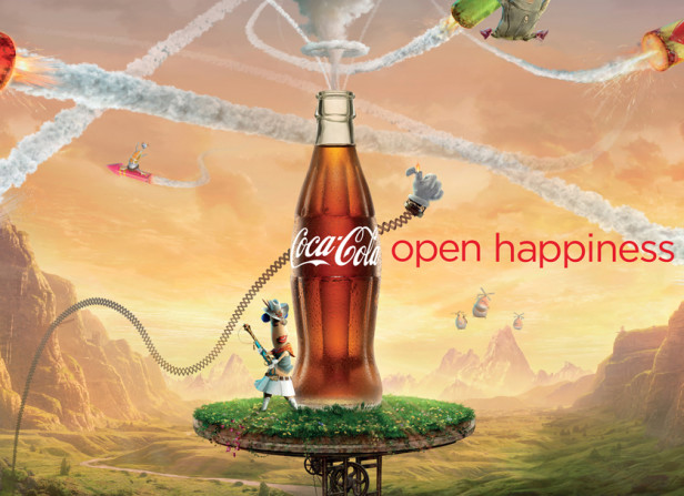 Coca Cola Happiness Factory 48 Sheet