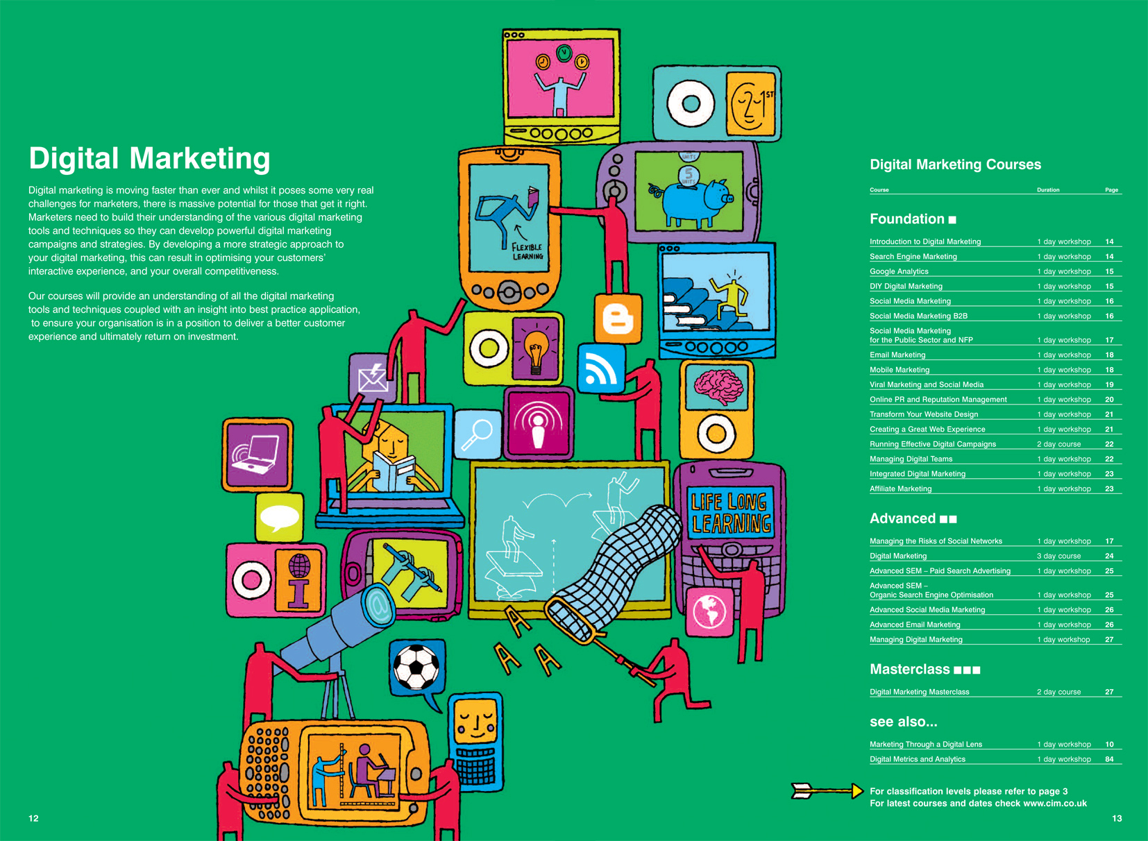 Digital Marketing / CIM Brochure 2012