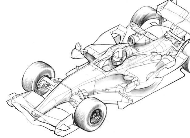 James Carey Hand Drawn Pencil Editorial
