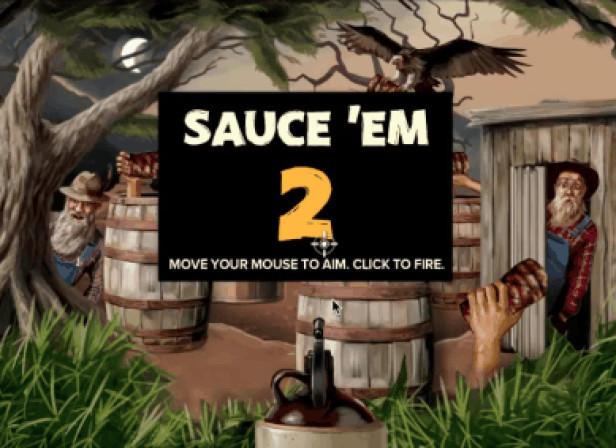 Outback Moonshine BBQ Sauce'em Game