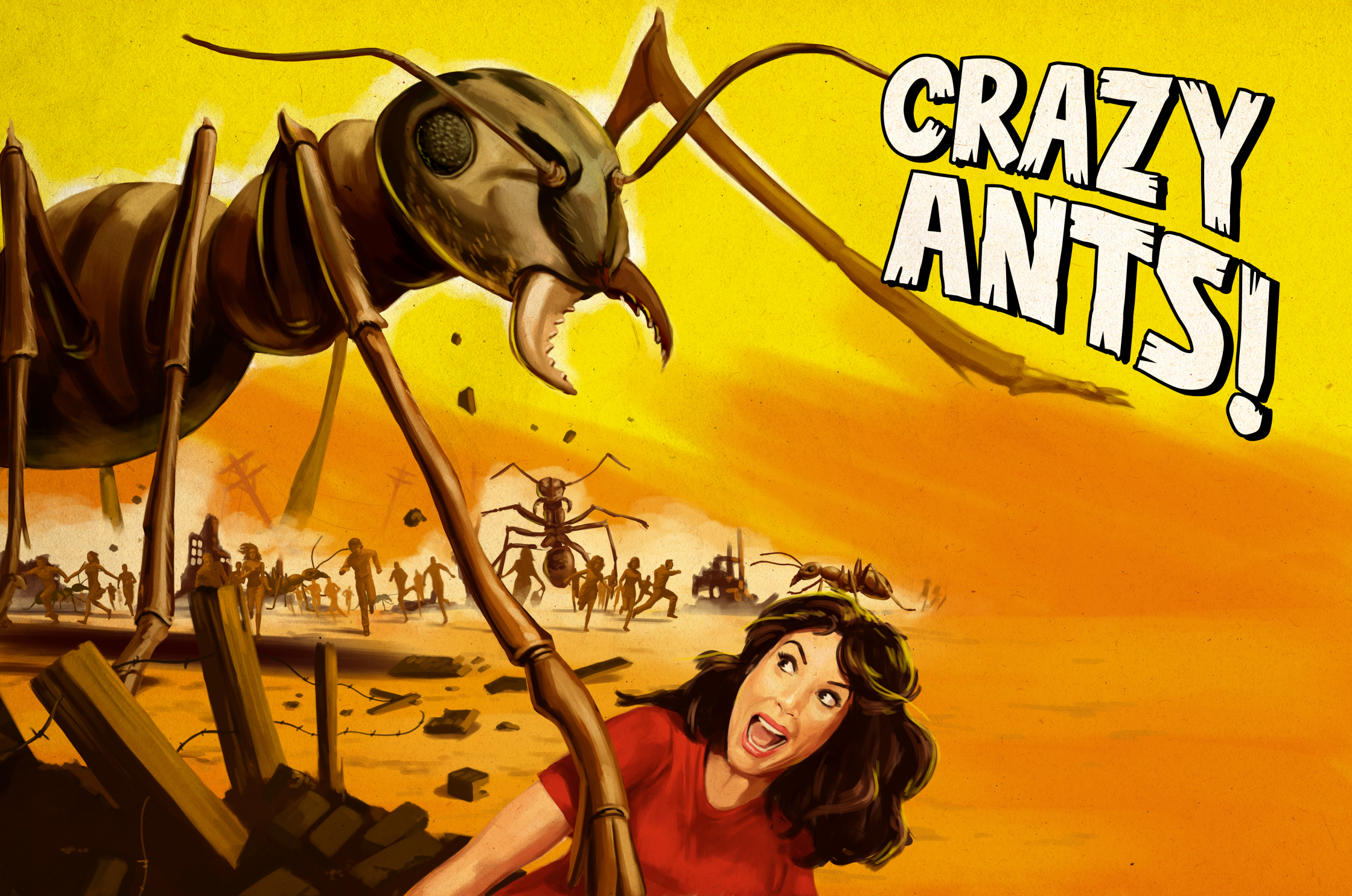 Atlanta Magazine Crazy Ants