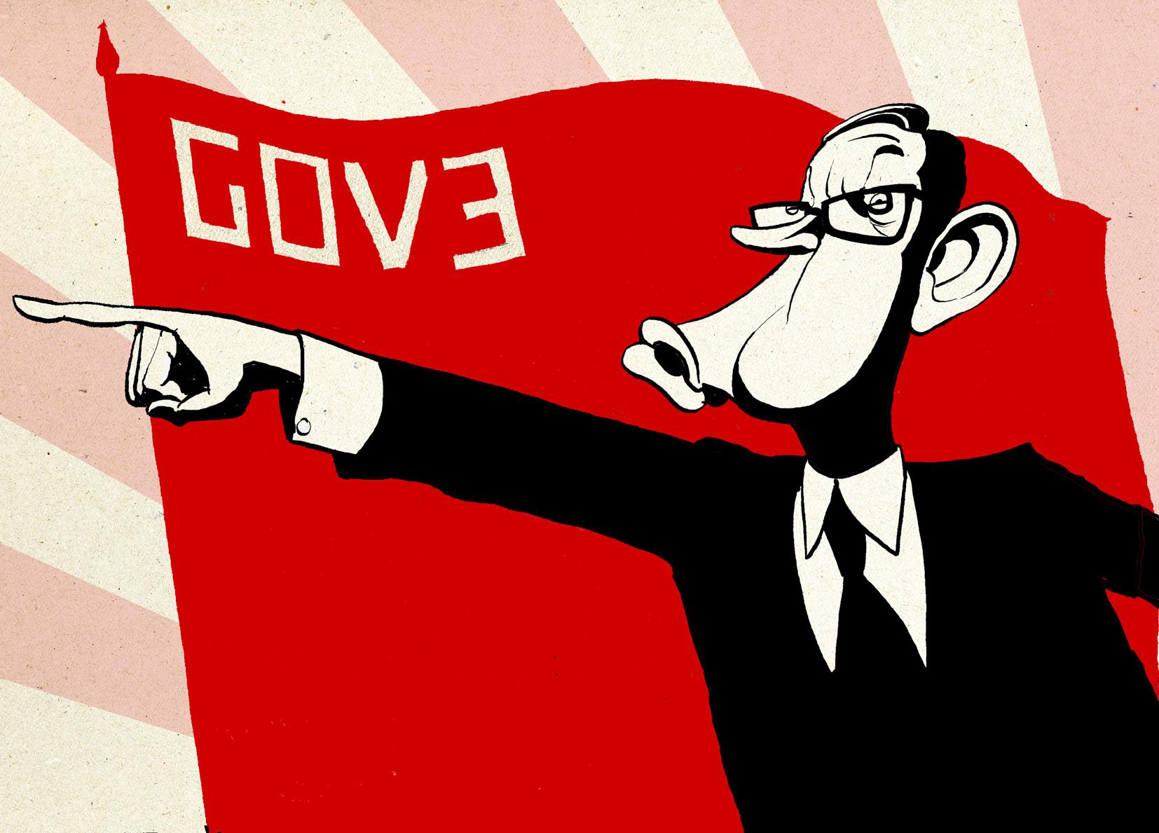 Gove Puppet