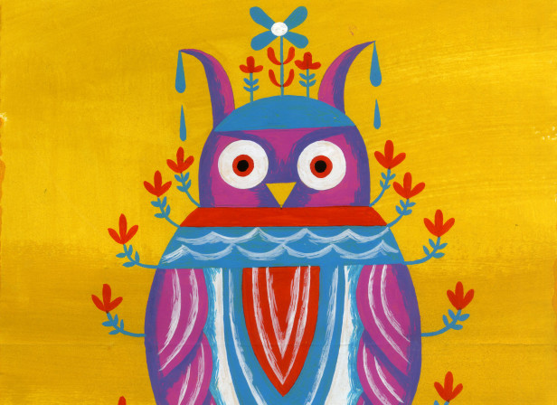 Owl on Yellow.JPG