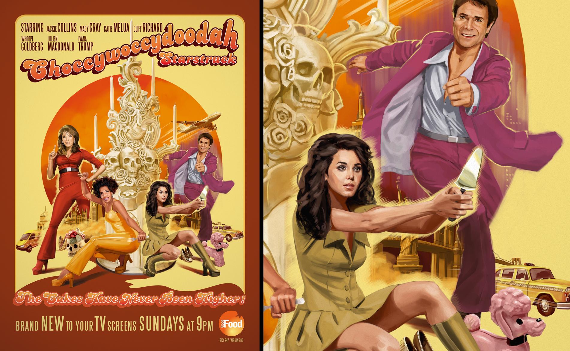 Choccywoccydoodah Starstruck Poster