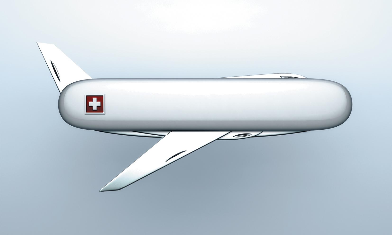 Utility Knife Airplane