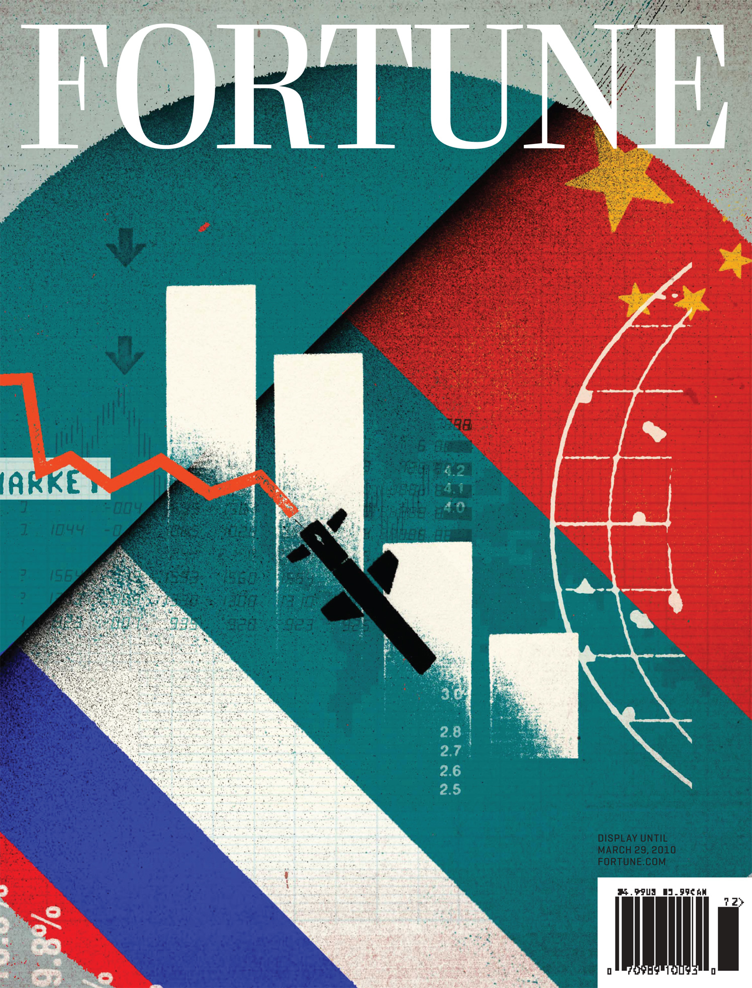 Cold War on Business / Fortune Cover