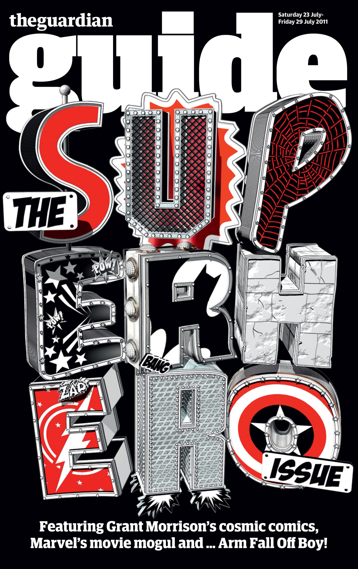 The Guide Superhero Issue