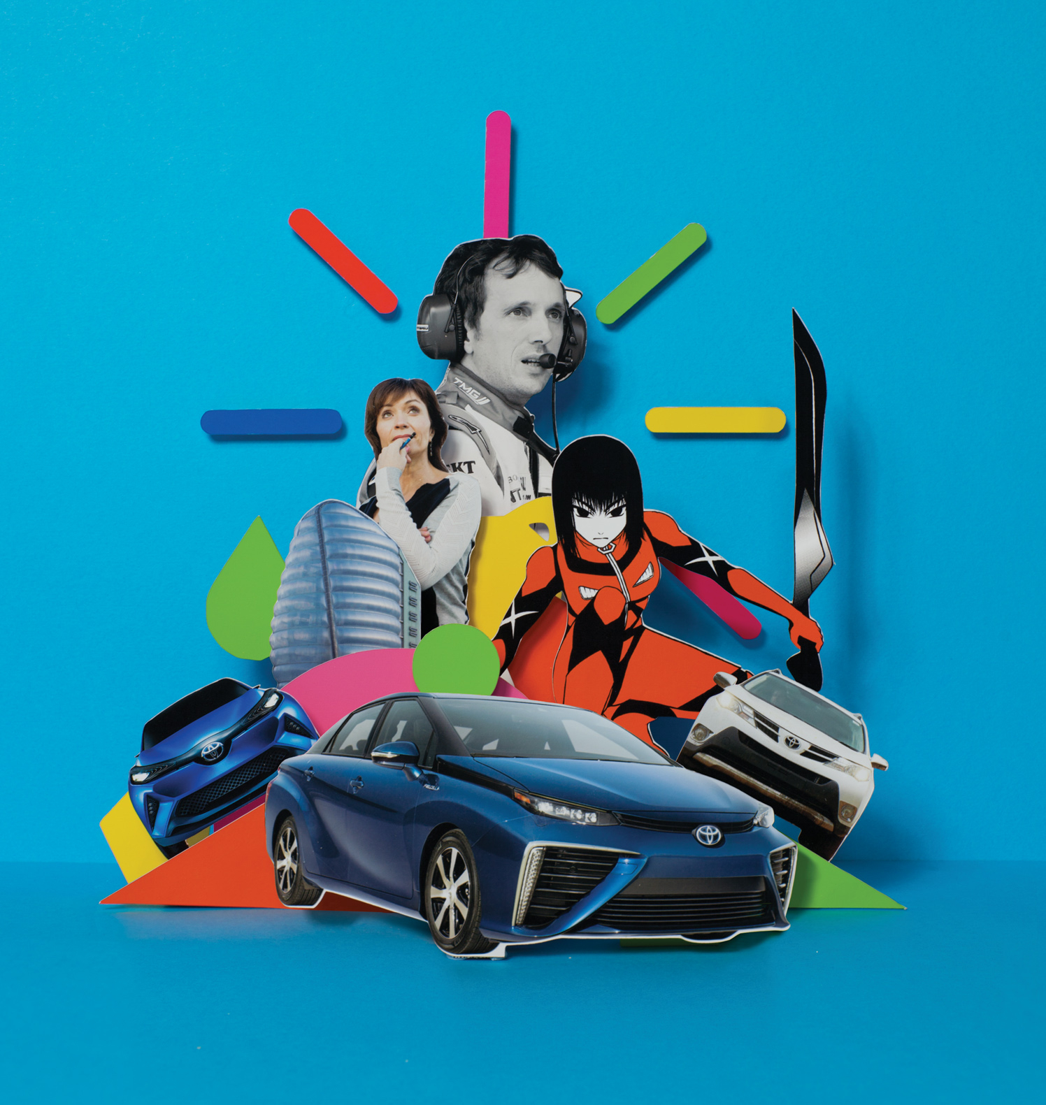 The Clever Issue / Toyota Magazine