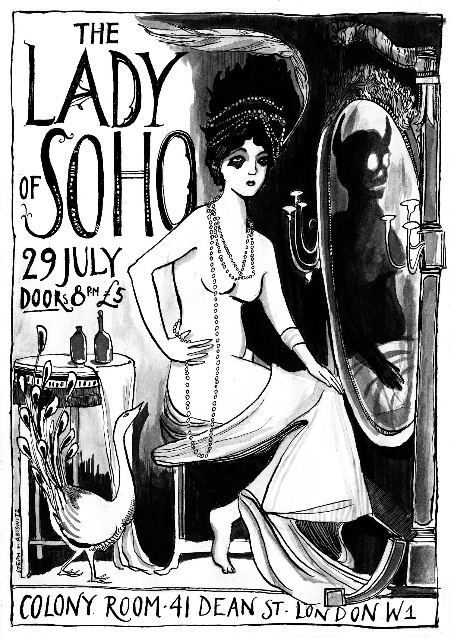 Colony Room Lady of Soho