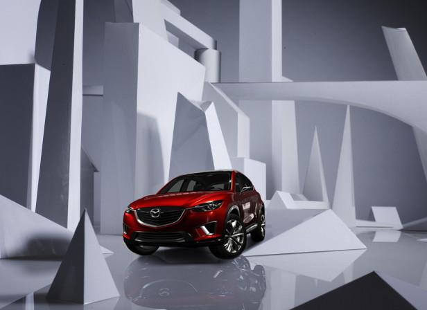 Mazda Magazine Paper Cityscape 2