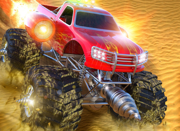 Robot Races / Desert