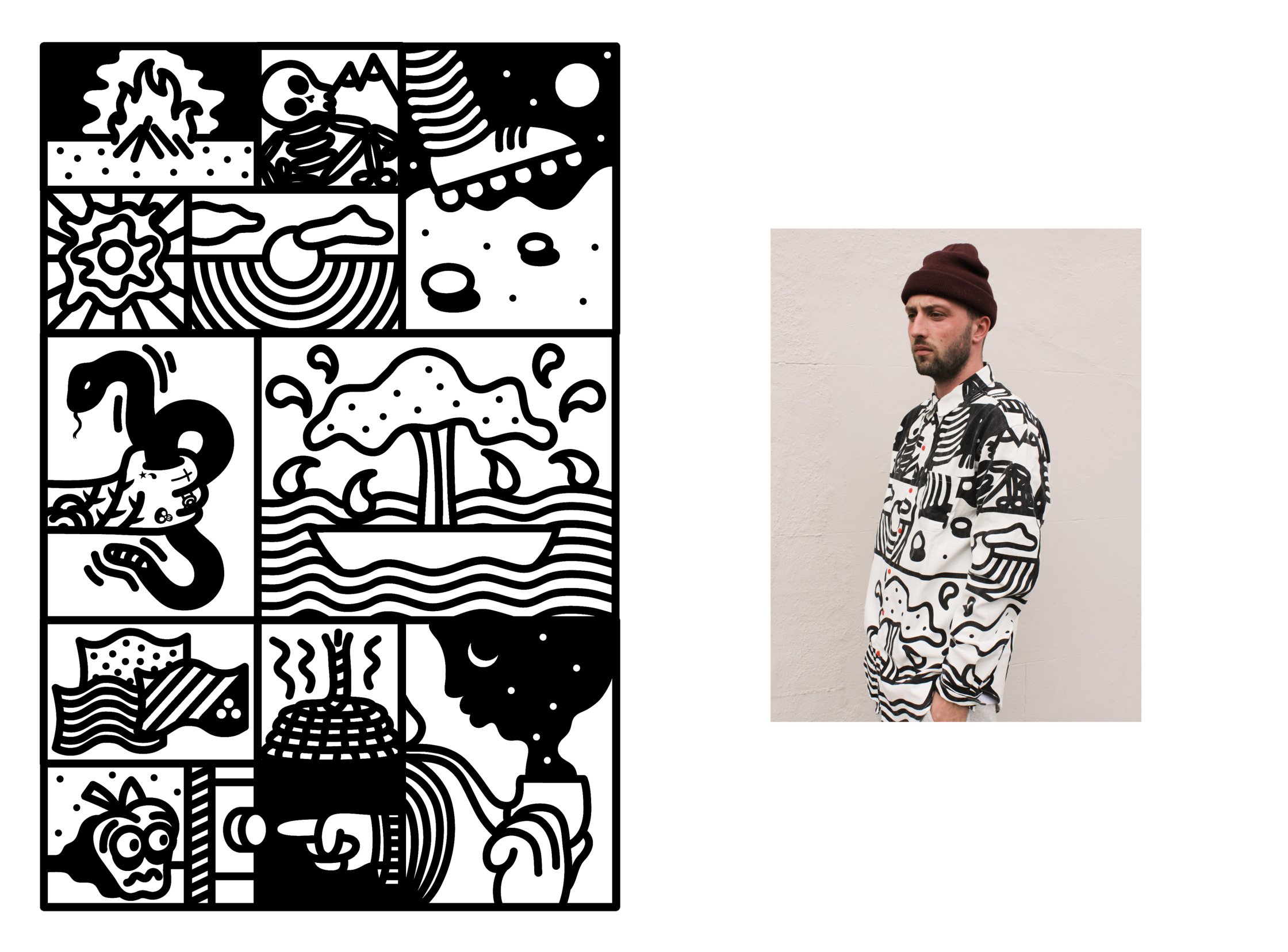 Comic Zoom / Lazy Oaf