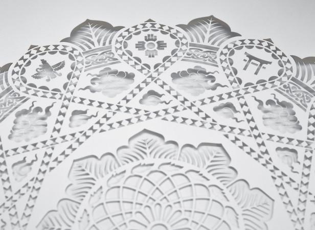 Dalai Lama Papercut