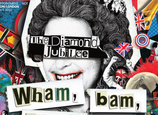 The Queen's Jubilee Cover / Time Out Magazine