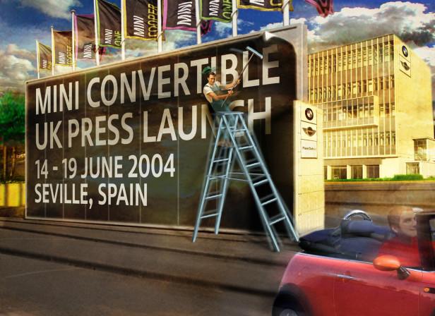 Mini Cabriolet Launch Invitation / Ptarmigan