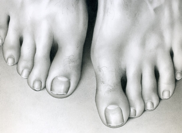 Male Feet Toes Detail