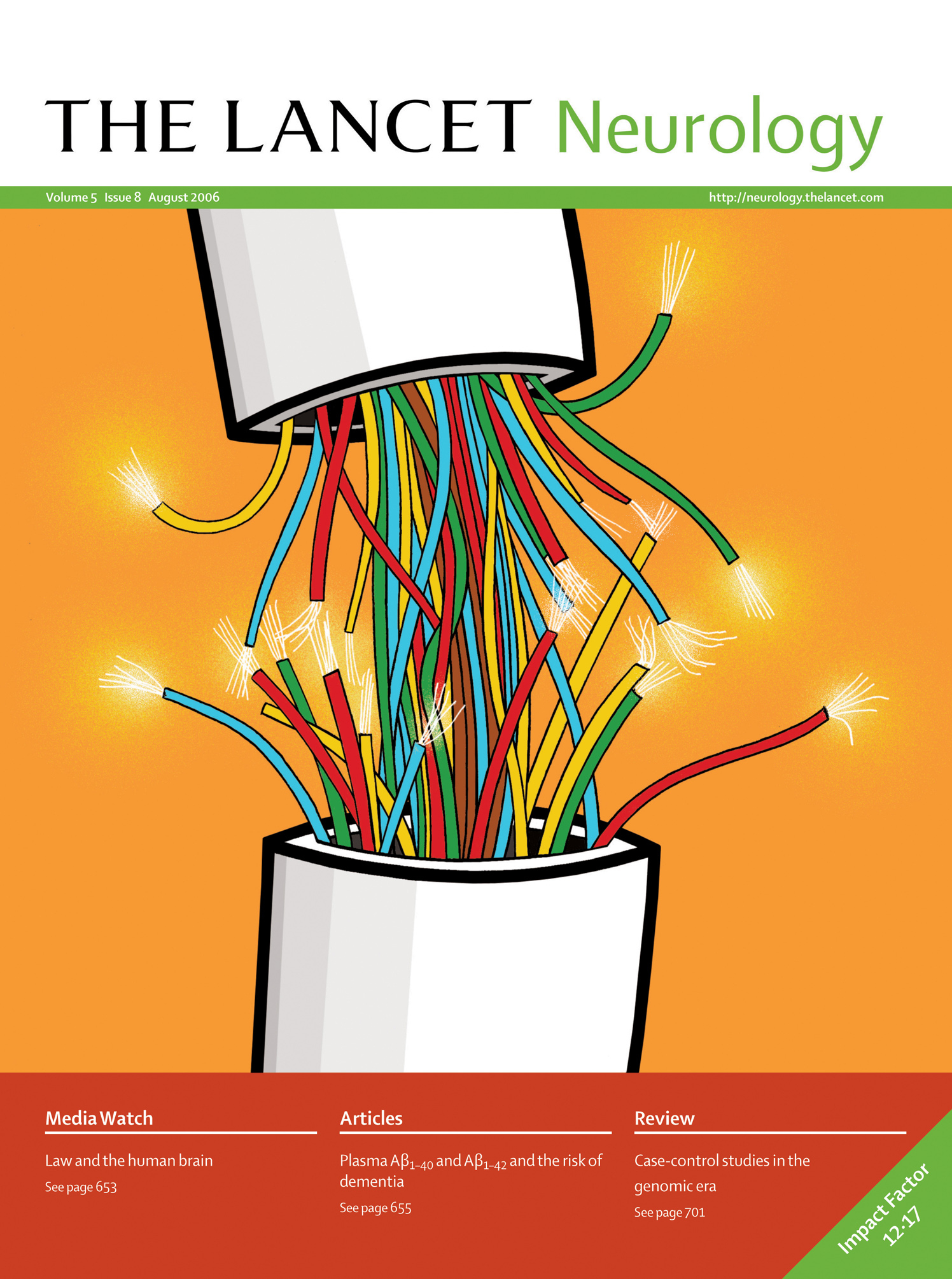 Front Cover Neural Wiring The Lancet