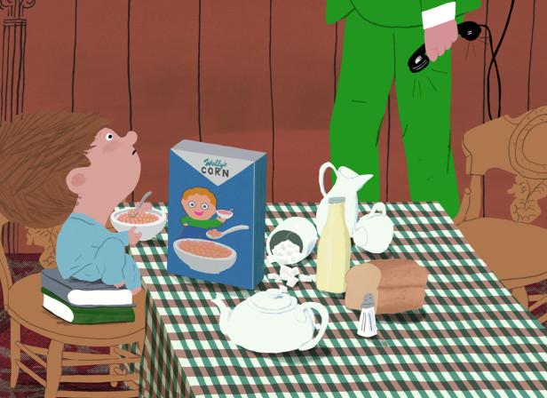 Mr Peek And The Misunderstanding At The Zoo Breakfast