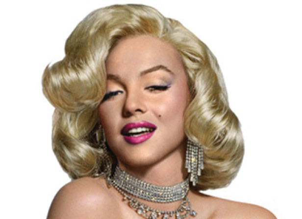 The Marilyn Collection Standee